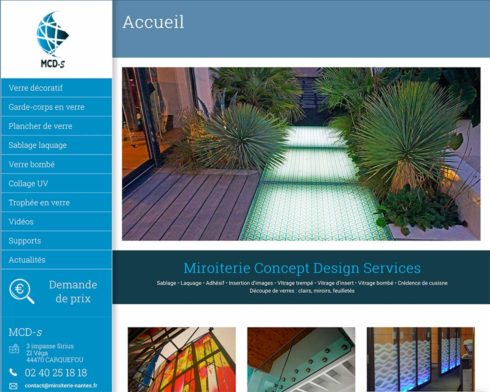 Site Web MCDS