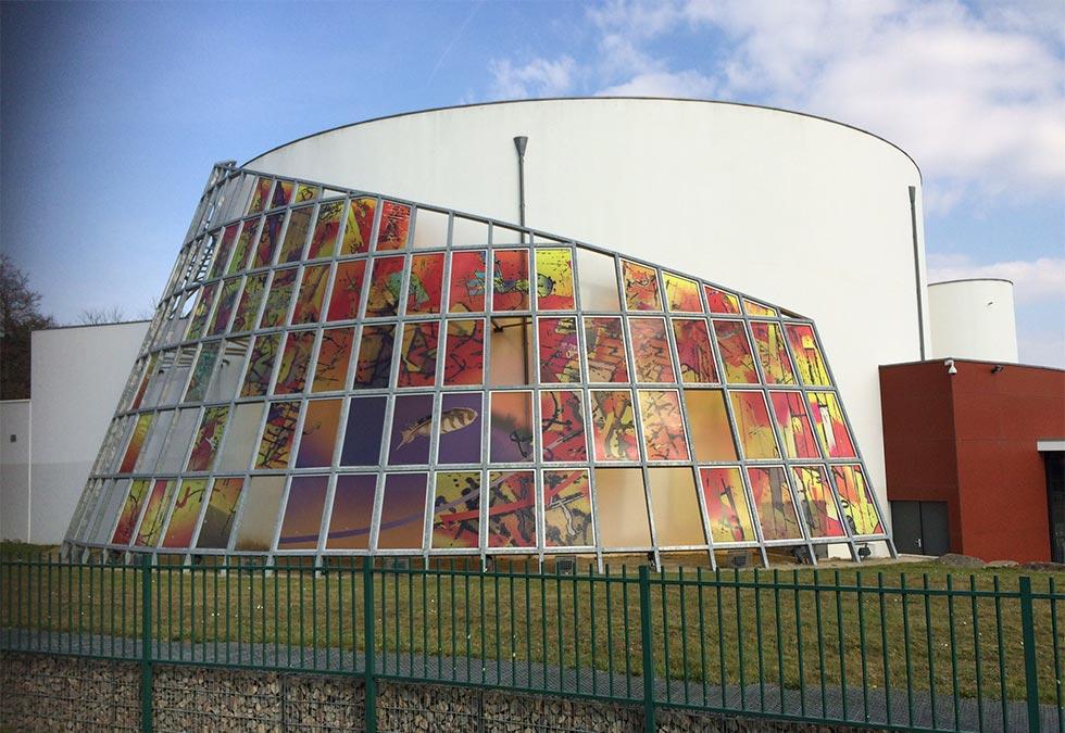 Verre décoratif MCD-s Nantes : Miroiterie