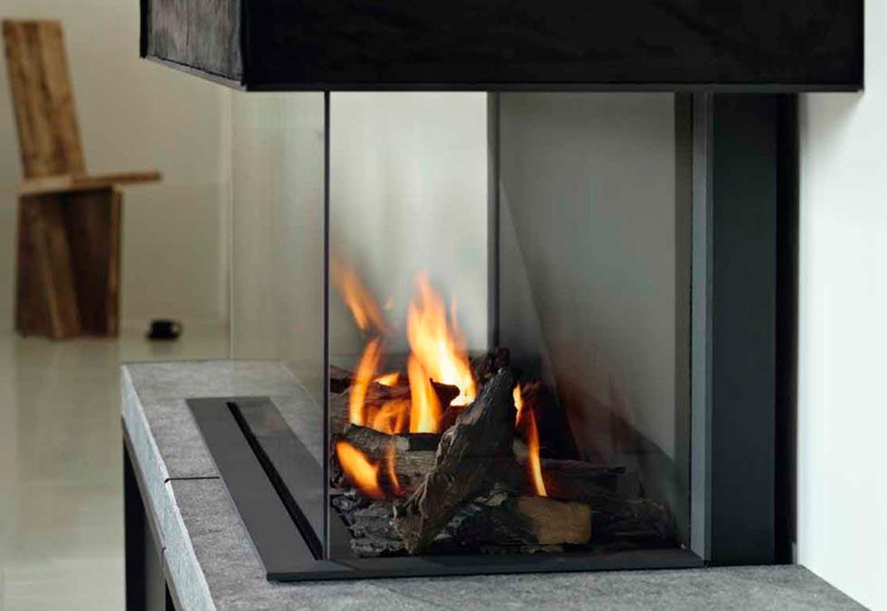 Verre insert de cheminé Nantes
